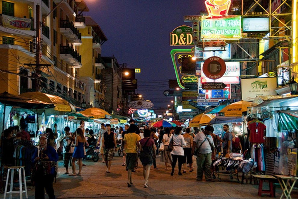 Things To Do In Khao San Road Bangkok Neighborhood
