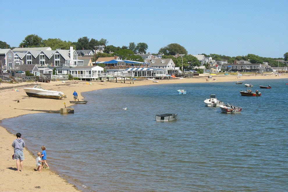 Provincetown beaches are a great spot for a stroll
