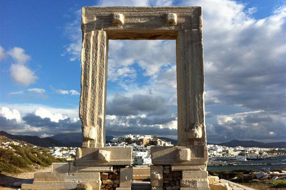 Portara, ancient arch at Naxos