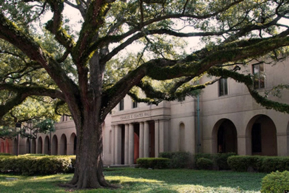 Coates Hall at Louisiana State University, Baton Rouge.