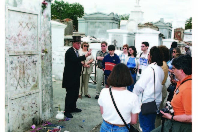 Haunted History Tour introduces guests to spooky sites in New Orleans.
