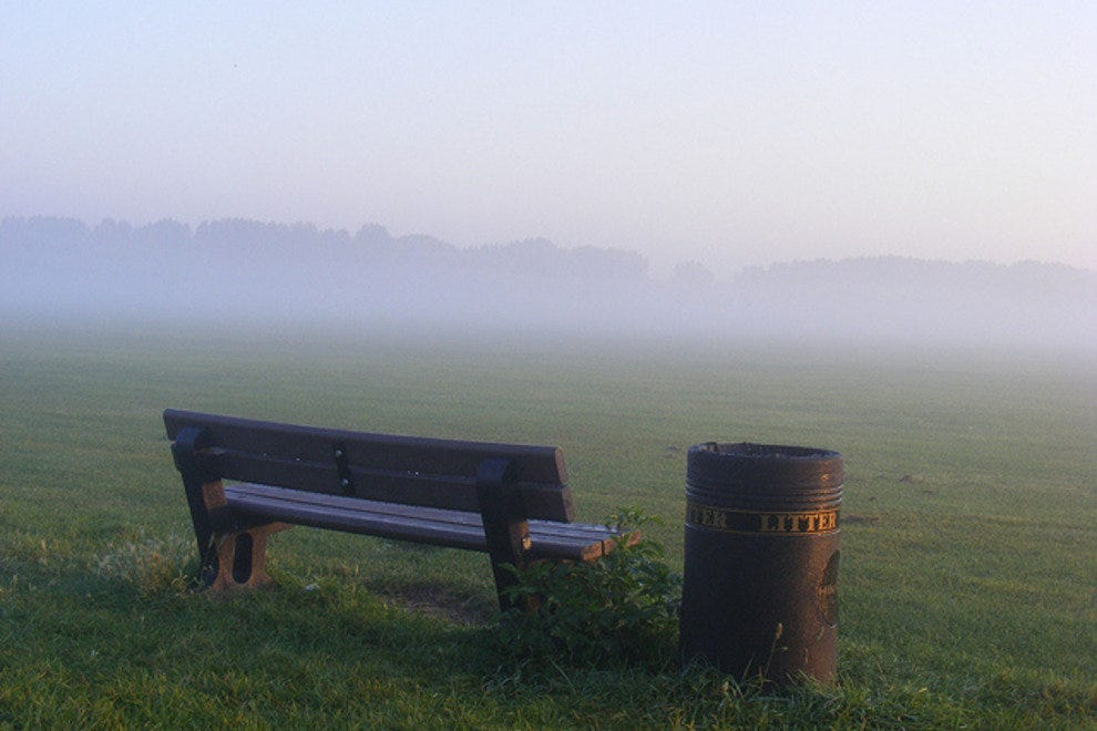Misty Hackney Marshes Photo Courtesy Of Sludgegulperif You Want To Stay In Style Pretty Near The City London And Just A Hop Skip Jump Away
