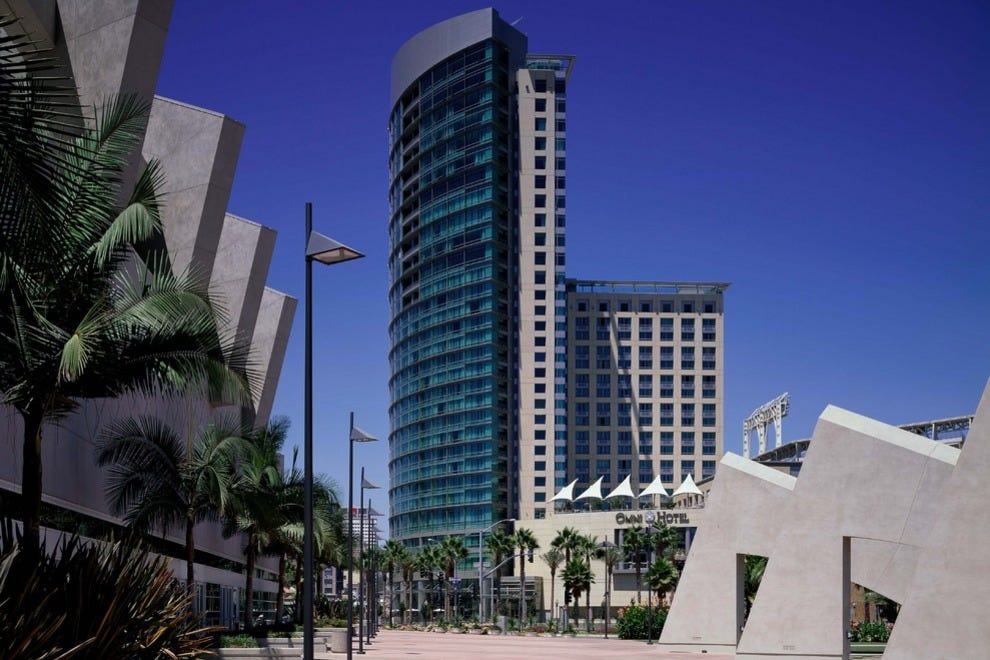 hotel review reviews omni diego california
