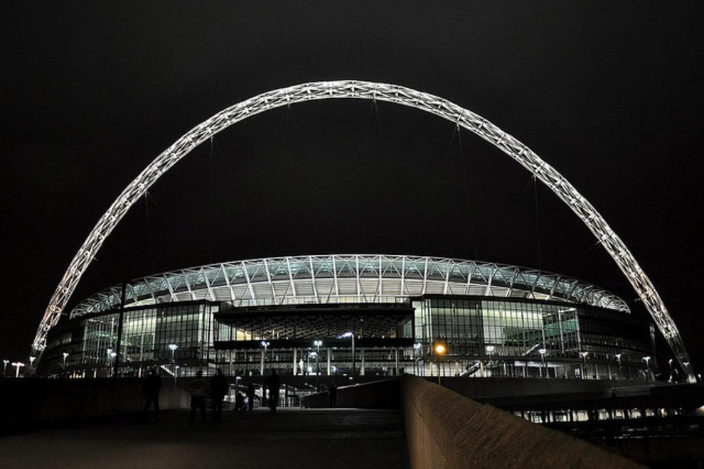 Wembley Stadium - The spirtual home of football