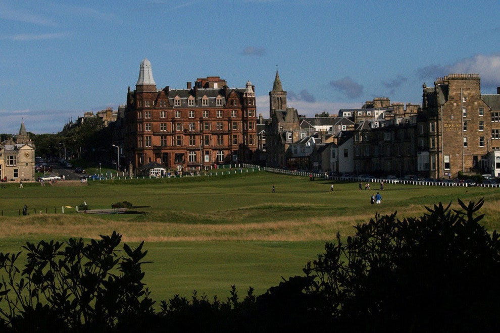 Golf at St Andrews, Scotland