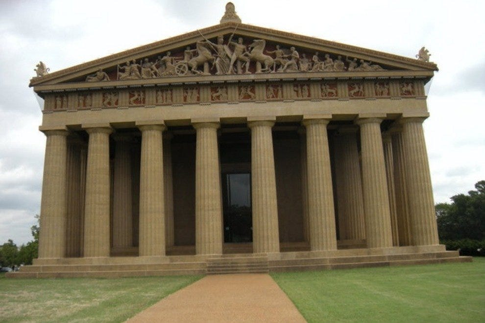 Parthenon in Centennial Park