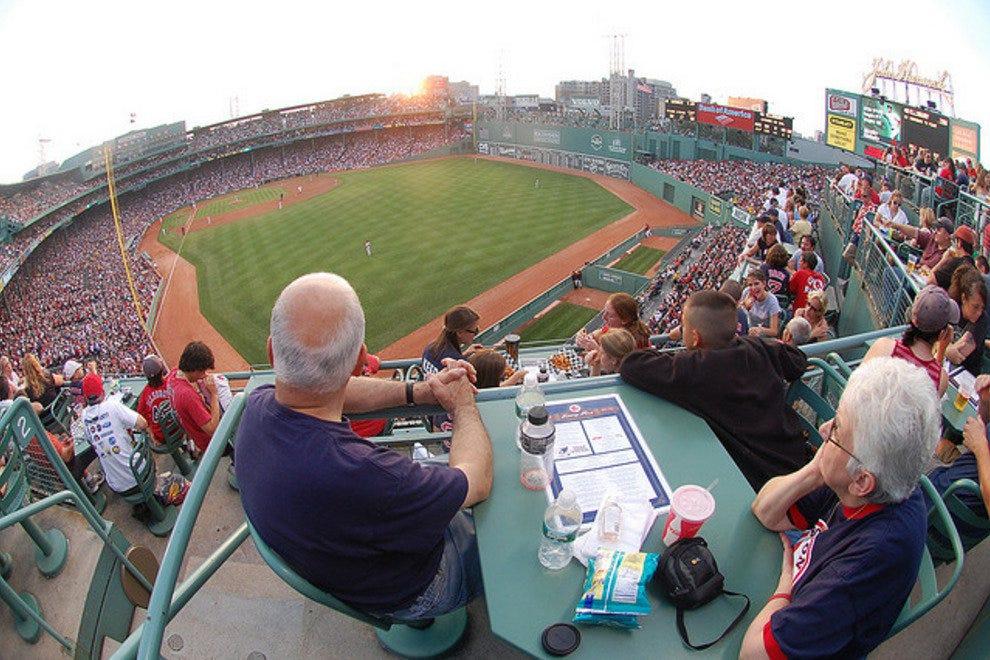 Iconic Baseball Parks Fenway Park