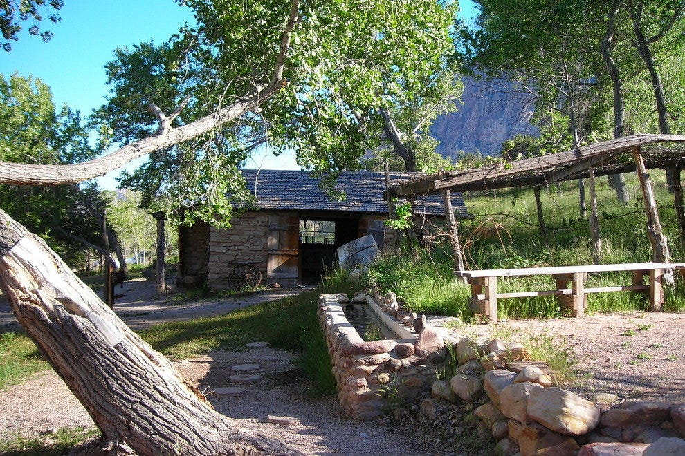 Historic Buildings, Spring Mountain Ranch State Park