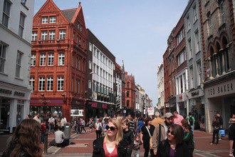 Dublin's City Centre Offers Famous Department Stores, Boutiques and Markets