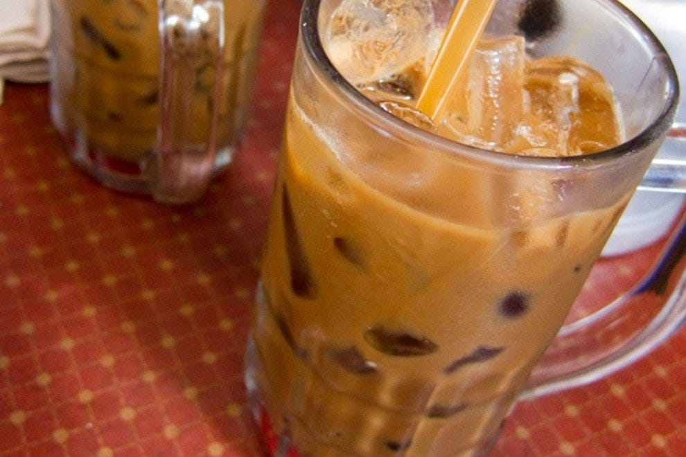 A Vietnamese iced coffee offers sweet relief from a hot summer day