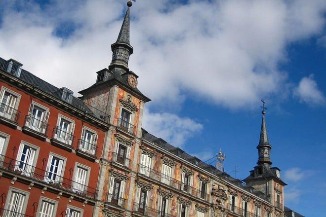 Sightseeing in Madrid