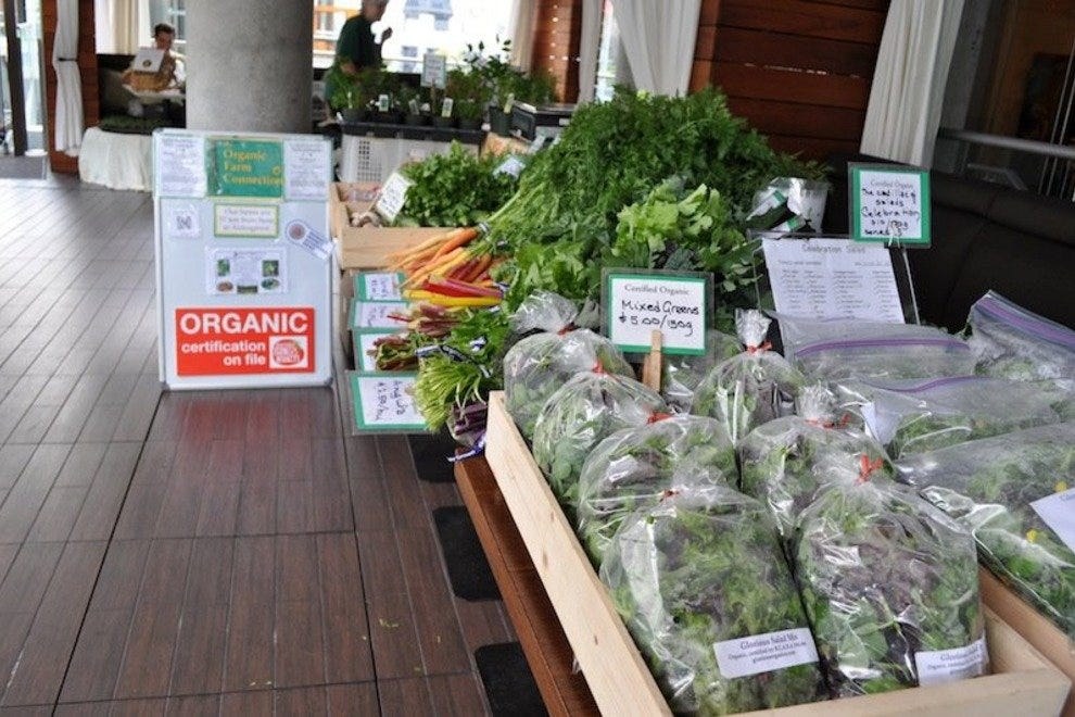 Organic Farm Connection fresh vegetables