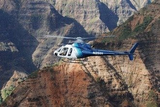 Island Helicopters Jurassic Falls Tour