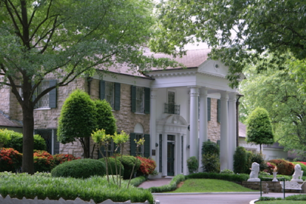 The king's castle was the second home he bought in Memphis, and draws 600,000 visitors a year to Memphis.