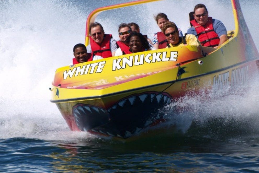 White Knuckle Thrill Boat Rides