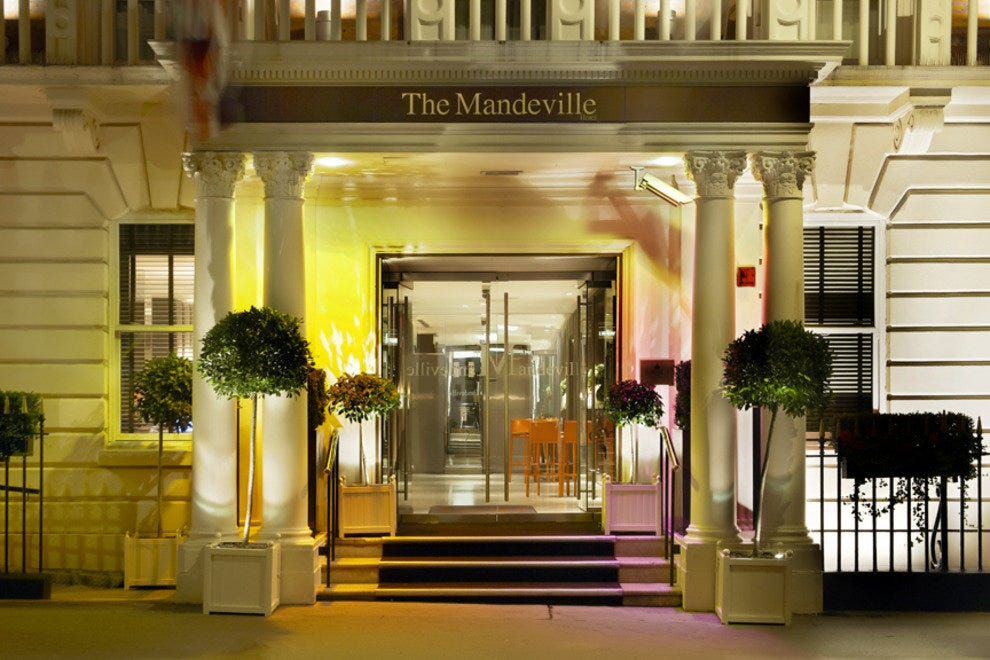 Exterior of The Mandeville