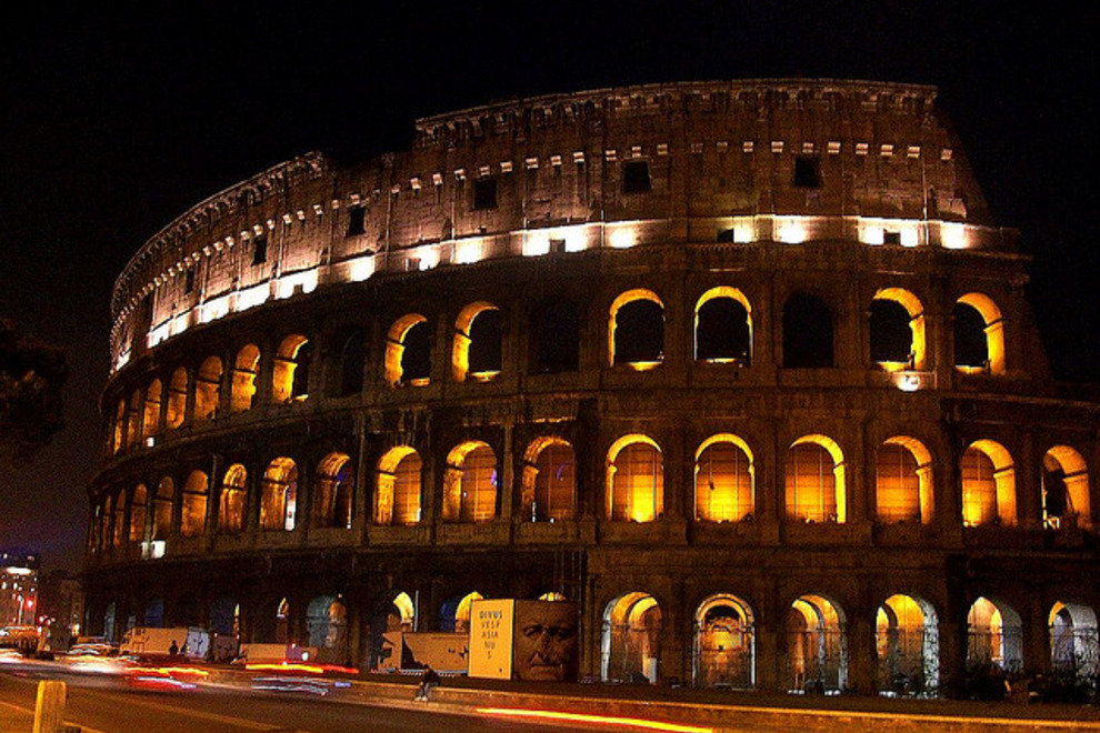 See the Colosseum Under the Stars