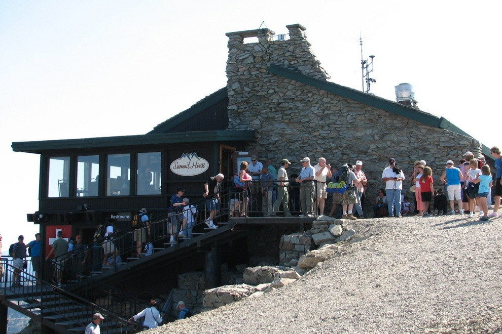 Ride a Gondola to the Summit House on Mt. Rainier