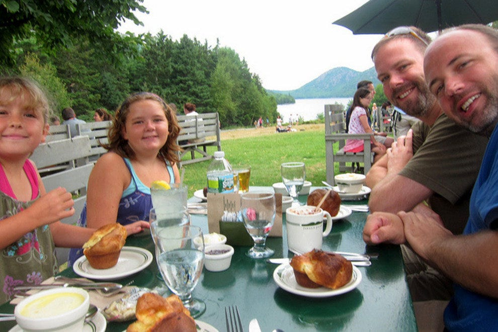 Eat Popovers at Acadia National Park
