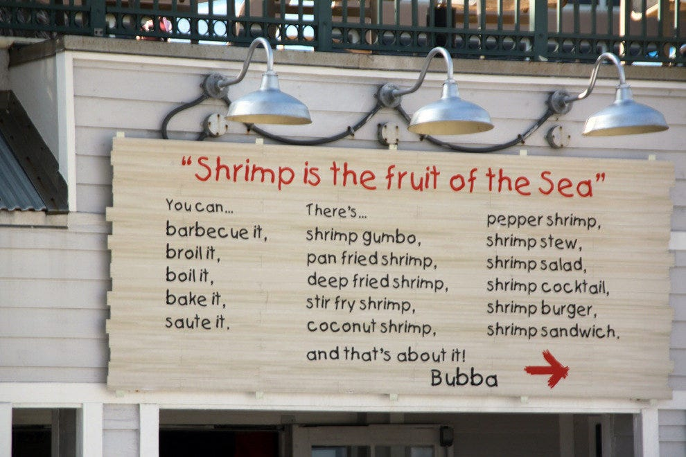 Fort Lauderdale, Shrimp Specialties