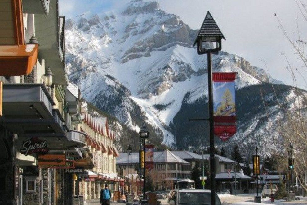 Banff is both charming and impressive