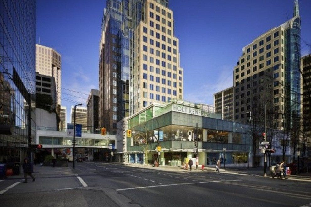 Holt Renfrew in downtown Vancouver