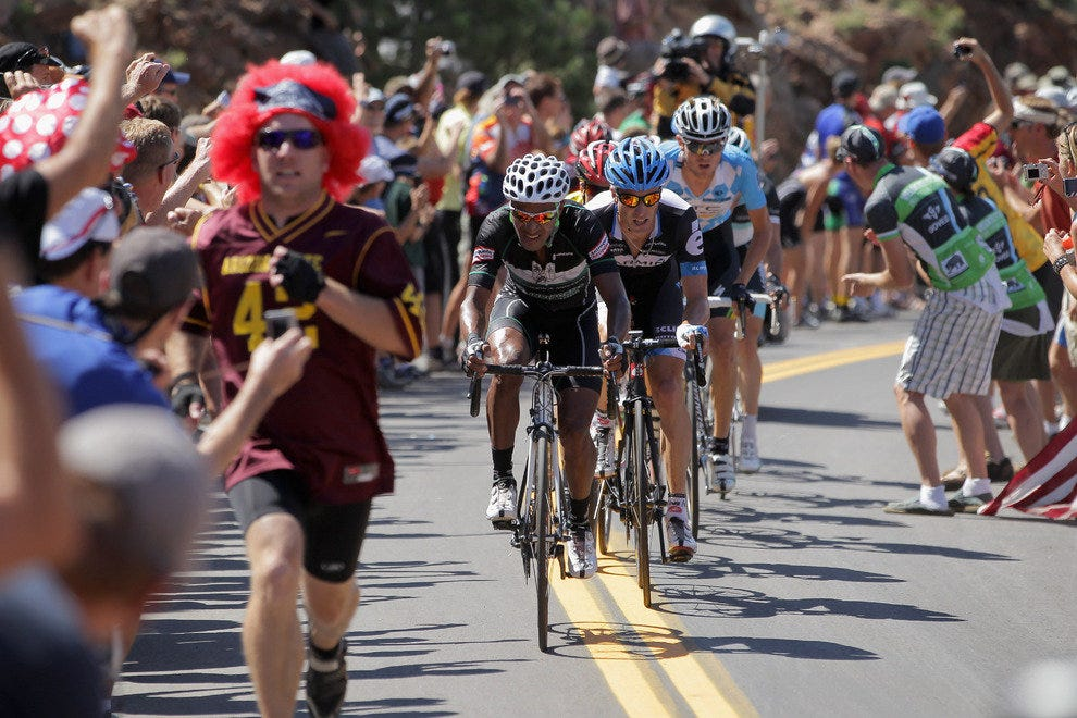 683 miles, 7 days and the world's best riders compete in the USA Pro Cycling Challenge