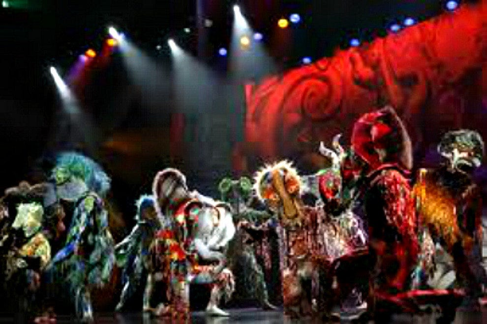 Cirque Dreams Jungle Fantasy has been getting rave reviews around the USA.