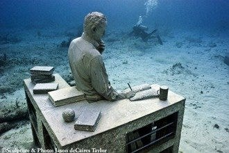 Cancun Underwater Museum Expands
