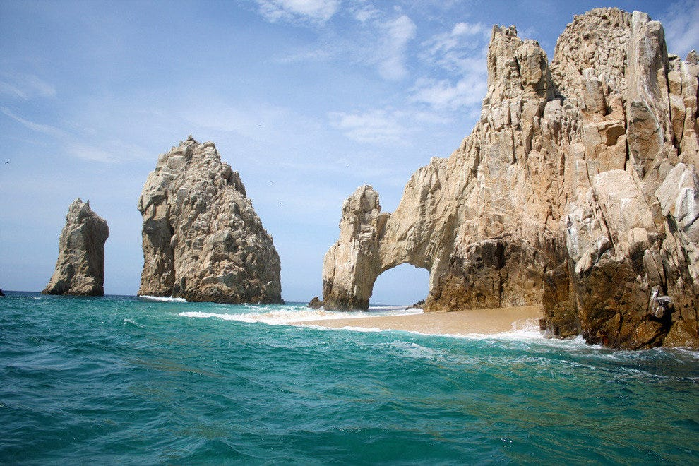Lover's Beach at Cabo San Lucas, Mexico