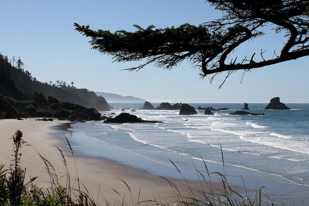 Indian Beach in Ecola State Park, Oregon