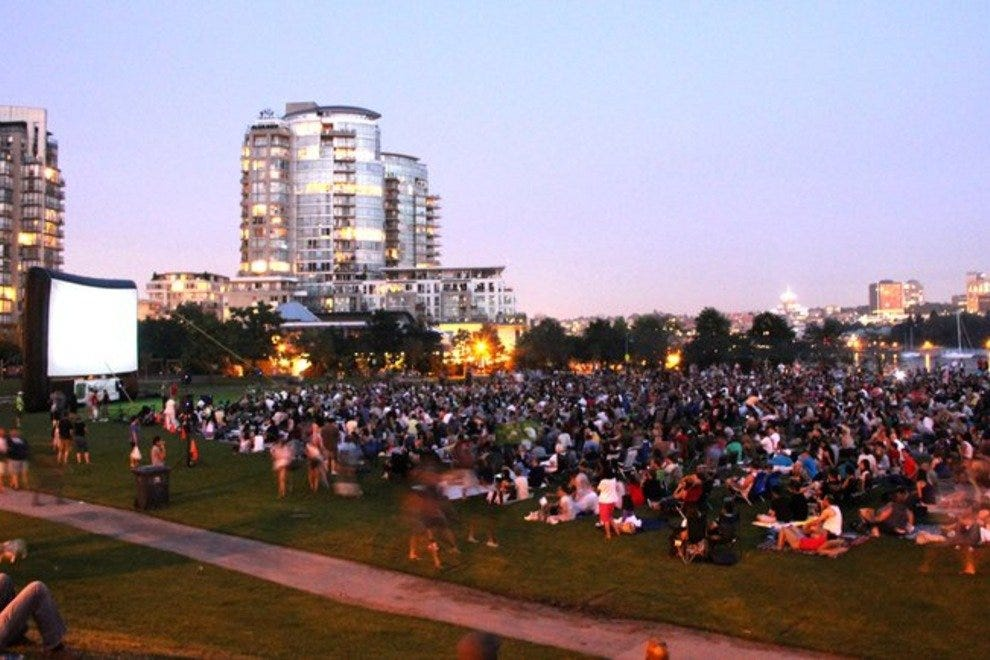 David Lam Park's outdoor theater