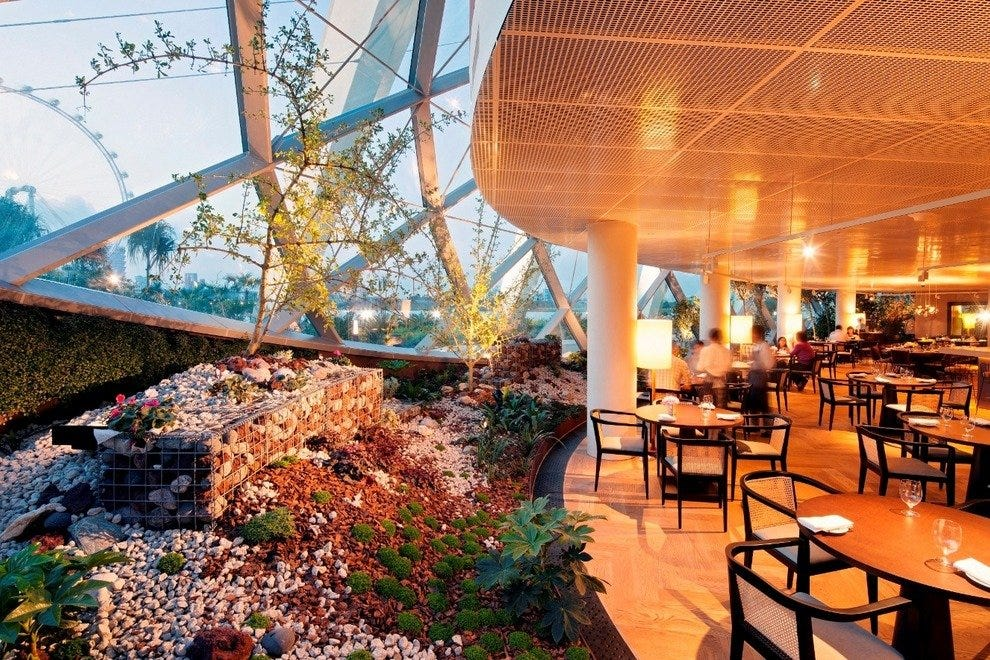 Lower Level of Pollen Restaurant