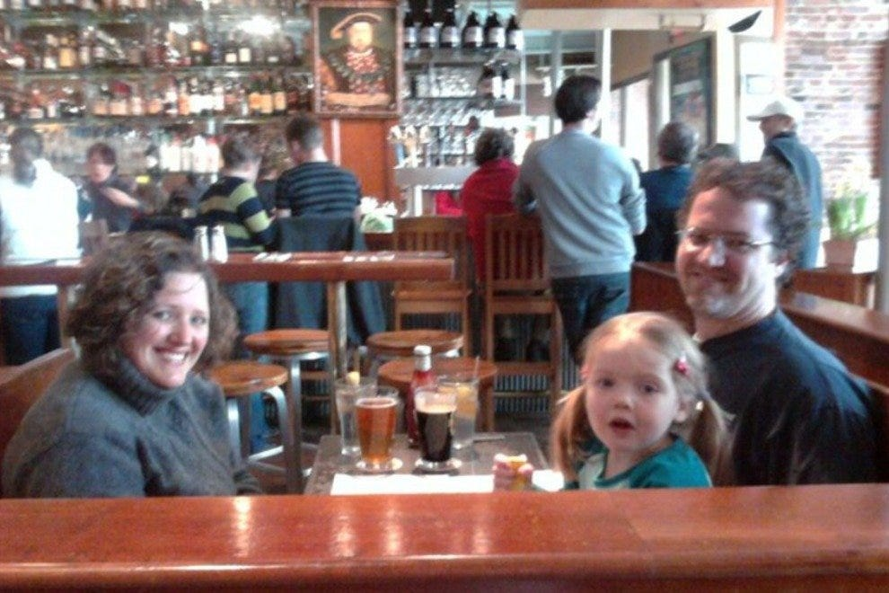 Families are welcome at the Portsmouth Brewery.