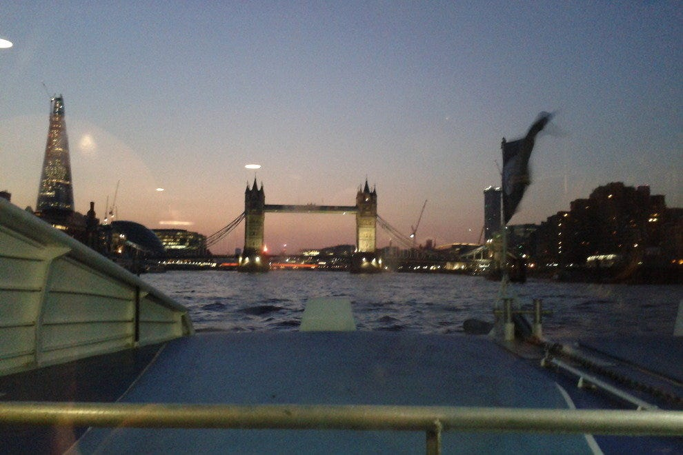 Tower Bridge from the River