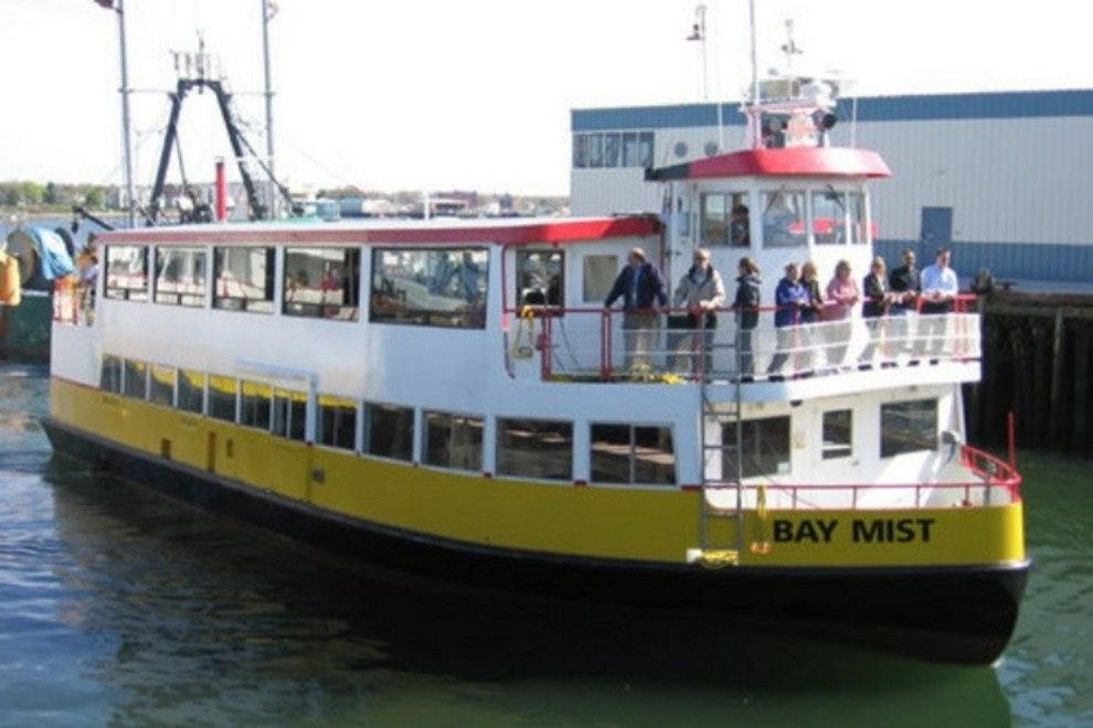 One of several ferries operated by Casco Bay Lines