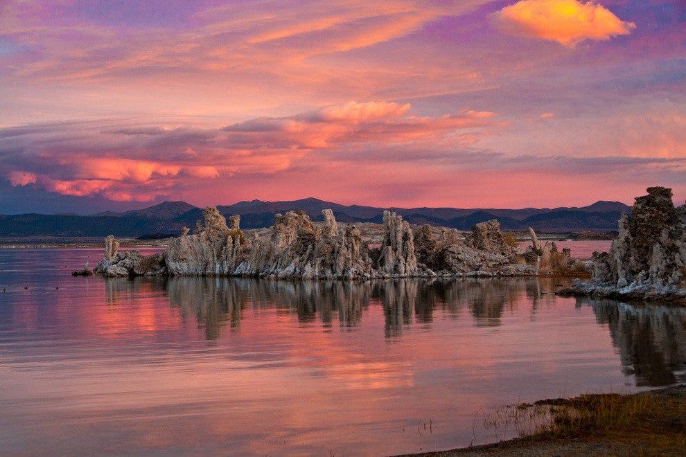 Mono Lake Tufa At Sunset Photo Courtesy Of Jkirkhart35