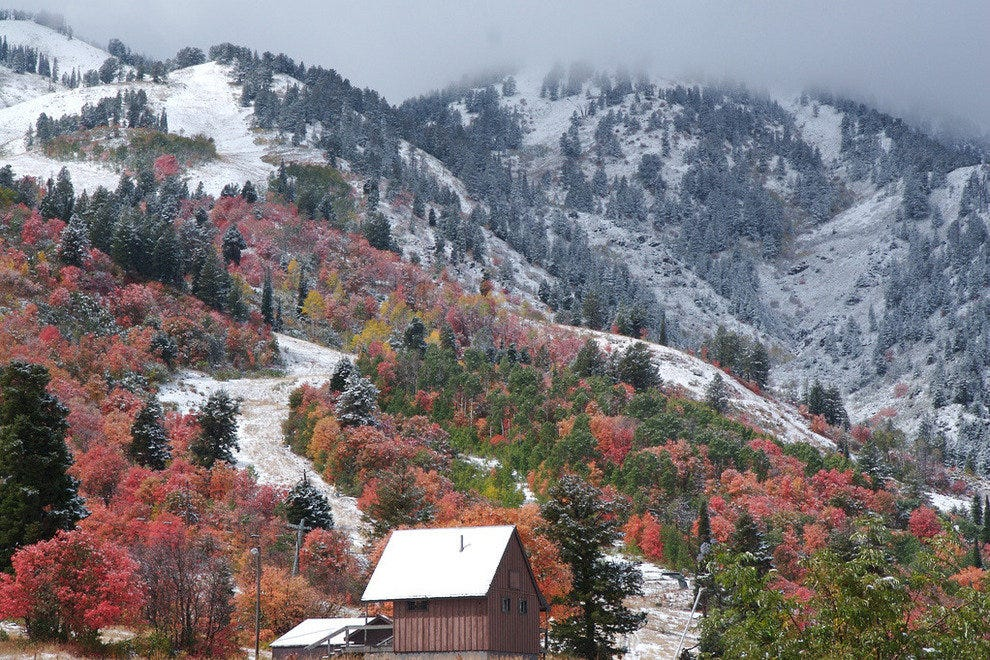 Fall descends on Snowbasin