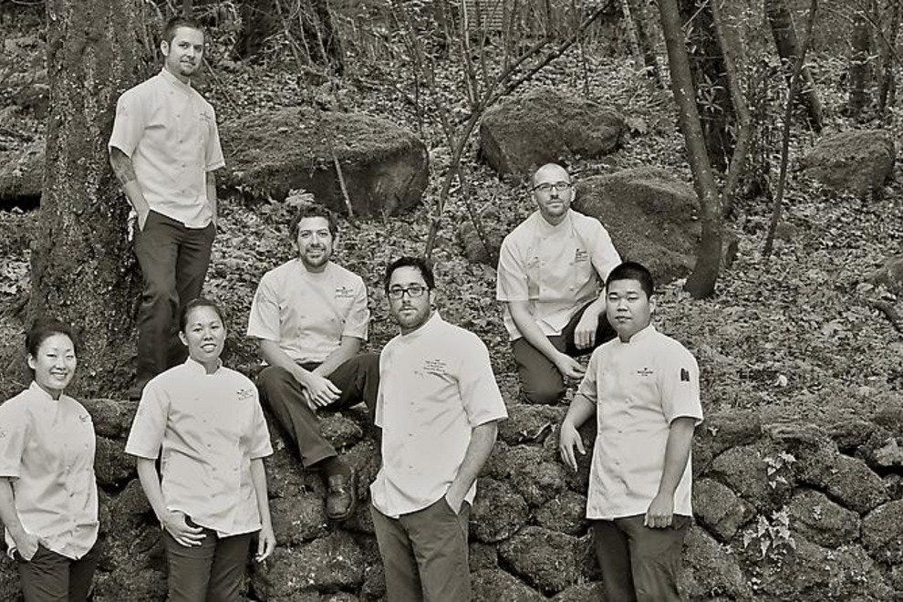 The team at the Restaurant at Meadowood