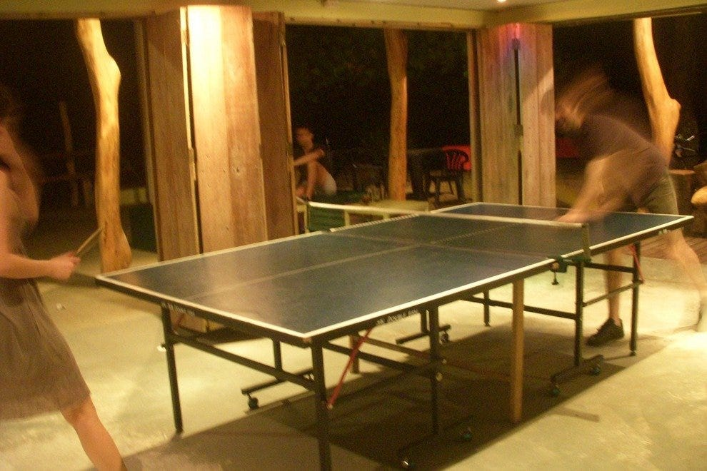 Ping Pong at The Lazy Mon