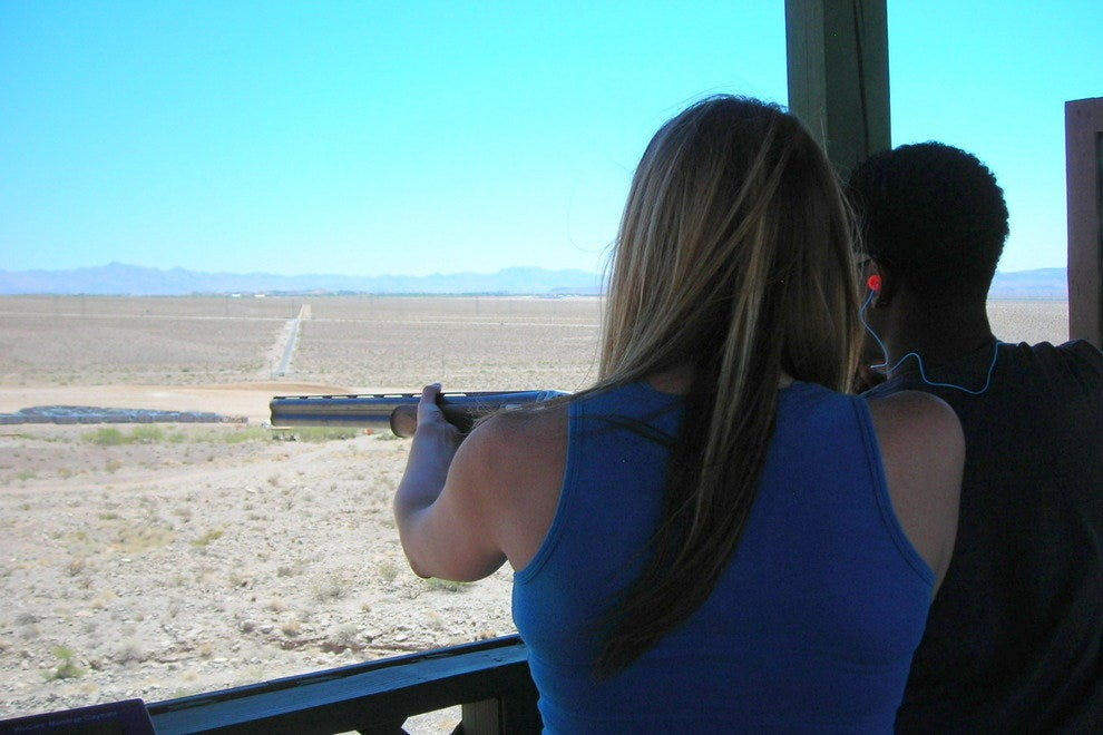 Firing shotguns at Pro Gun Club