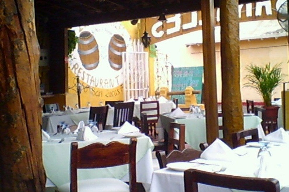A view of the dining area in Los Barriles Restaurant & Bar