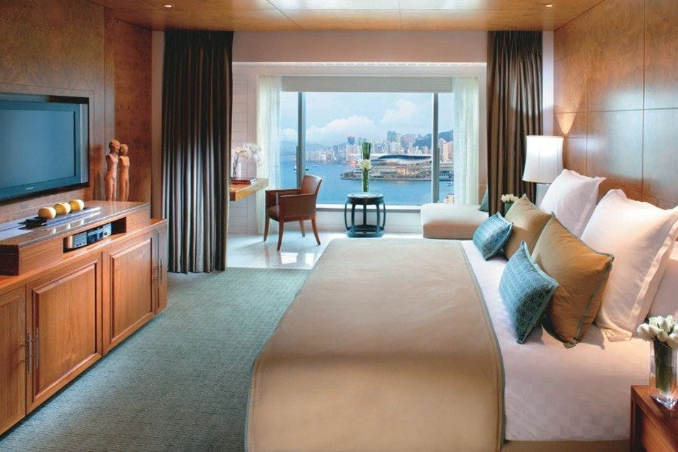 A harbour view room