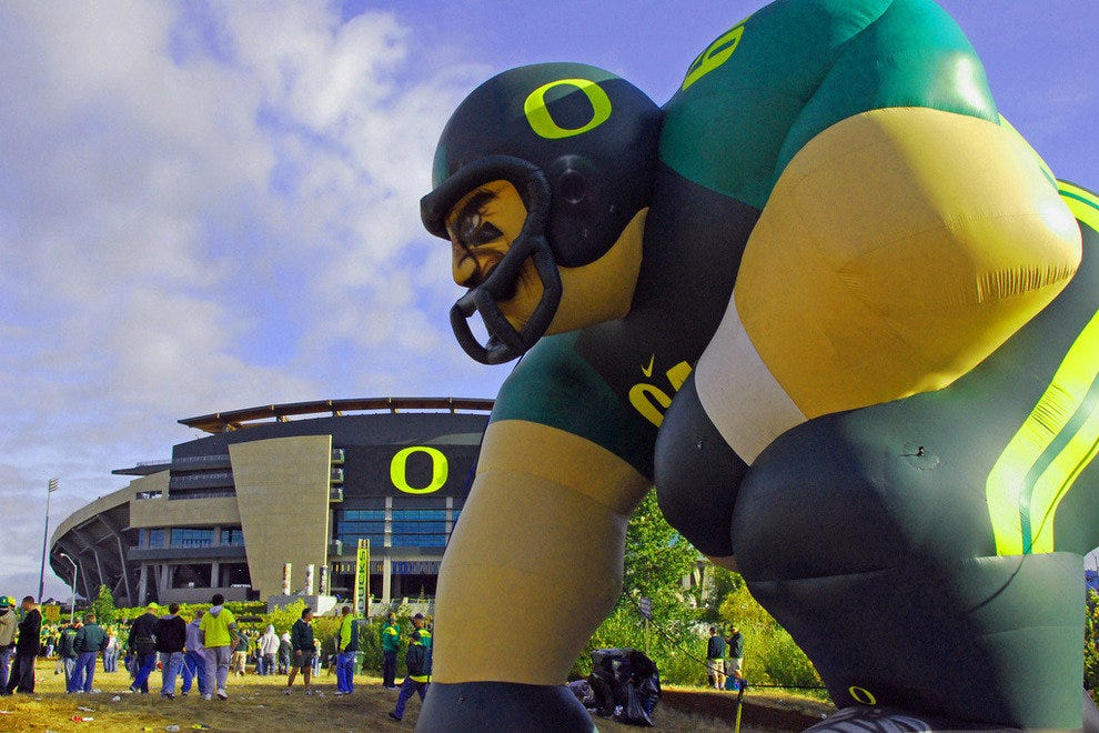 Eugene, OR:  Home of the Oregon Ducks
