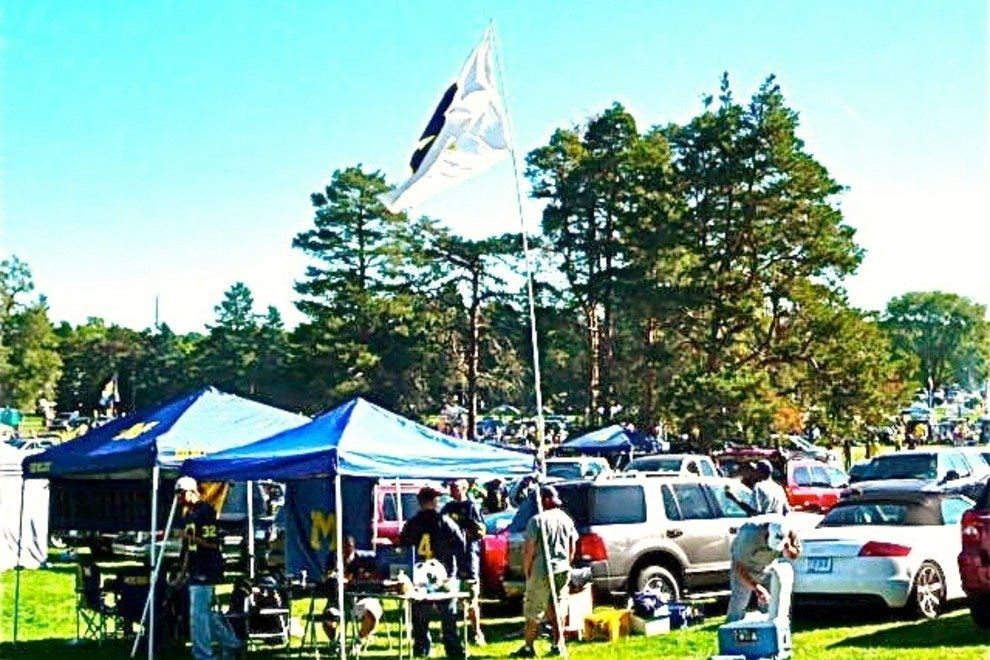 Tailgating in Ann Arbor is a great way to get pumped for a Wolverines game