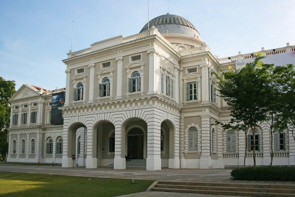 The National Museum of Singapore is a great way to learn about the country's entire history and culture in one sitting