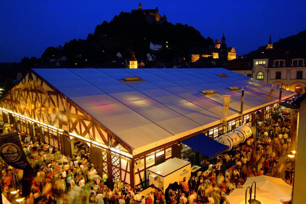 Beer Festival, Kumback in Bavaria, Germany