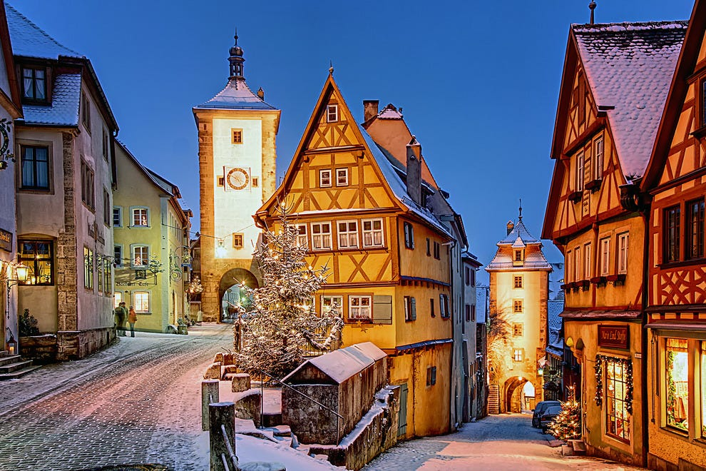 Rothenburg ob der Tauber, Bavaria Germany