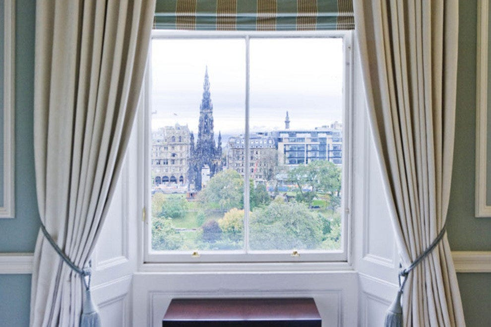 View of Scott Monument