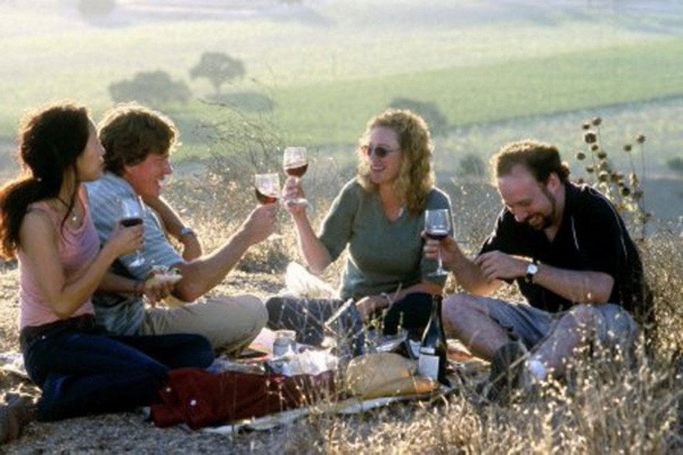 2004 wine-focused movie, Sideways